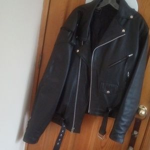 Other - Leather bomber